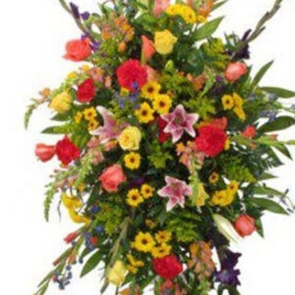 arrangement with various flowers